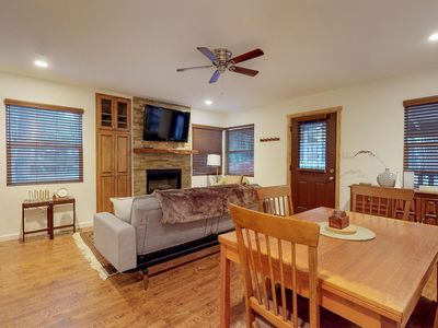 Photo for Mountain view, family-friendly cabin near hiking, sledding, and the slopes!