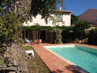 Photo for Village house with pool