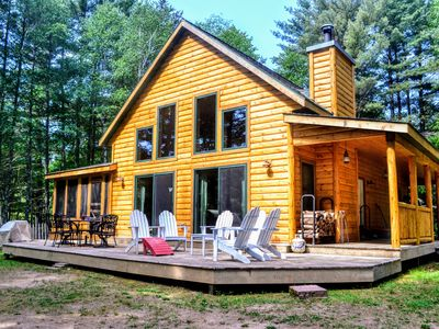 Photo for Large Northwoods Private Home - Close To Town - Perfect For The Whole Family!