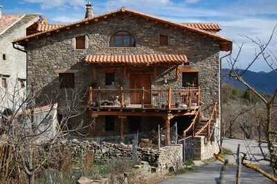 Photo for Rural apartment Borda Falceto for 2 people