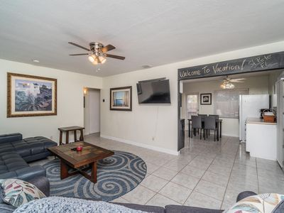 Photo for St. Pete Retreat - Updated 2/1 house w/ private patio in a privacy fenced yard!