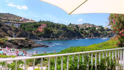 Photo for Collioure 2/6 pers 20 meters from the water clim + wifi + parking