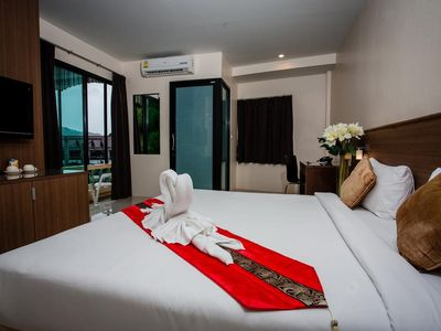 Photo for Deluxe Room in Patong 10 m w to  Shoping Center and Bangla W Street12 m to beach