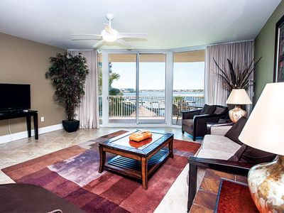 Photo for 2BR/2BA/Free Parking/Free WIFI/ Water View-Unit C201 by Hosteeva