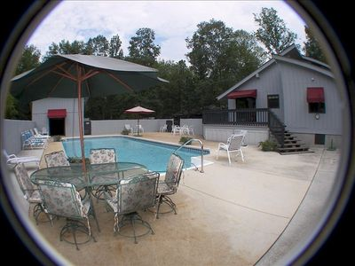 Chattanooga Vacation Rental Private Pool