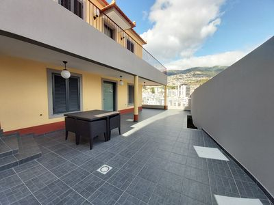 Photo for Villa in the center with terrace and views of Funchal