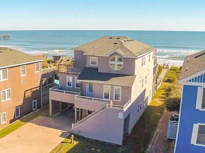 Photo for K1215 Serenity in Nags Head. Oceanfront, Pool, Hot Tub, Weddings/Events!