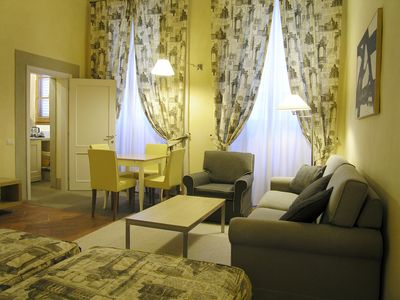 Photo for Premium Studio apartment inside Florentine Baroque style building
