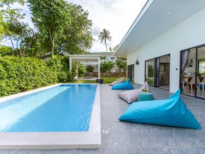 Photo for Villa Lotus 3 bedrooms walkable to the Beach