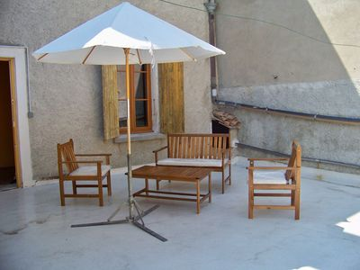 Photo for charming studio in the city center with sunny terrace