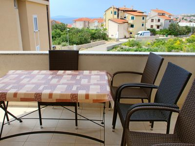 Photo for Central apartment in Novalja balcony with nice view and bus stop next door