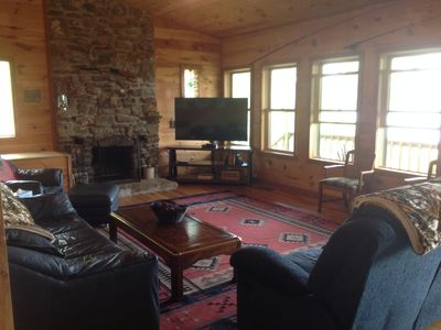 Photo for 4BR Cabin Vacation Rental in Peel, Arkansas