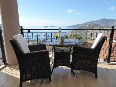 Photo for Taurus Penthouse Apartment Kalkan