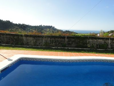Photo for RURAL VILLA IN FULL NATURE WITH SEA AND MOUNTAIN VIEWS