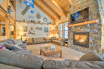 Elevate your Kirkwood retreat with this custom vacation rental home.