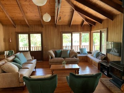 Photo for Eagle Bay Treehouse, walk to the beach