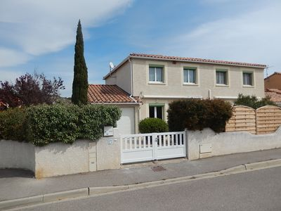 Photo for Villa 3 bedrooms for 6 people in Narbonne-Plage with WiFi
