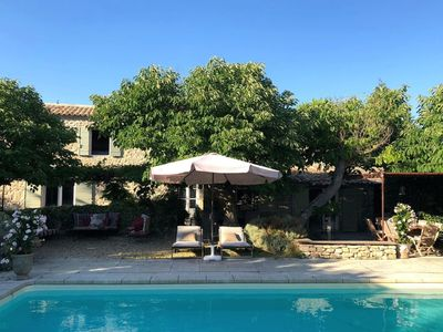 Photo for Stylish villa with private pool in the middle of a village in the beautiful Luberon