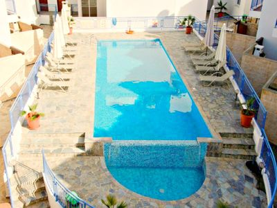 Photo for Argaka 3 Bed House-Heated Jacuzzi-Communal Pool -Stunning Sea Views-Roof Terrace