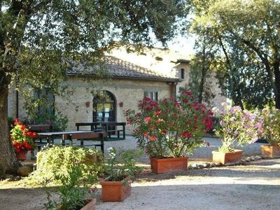 Photo for Country estate Bio Pieve a Salti, Montalcino  in Um Siena - 3 persons, 1 bedroom