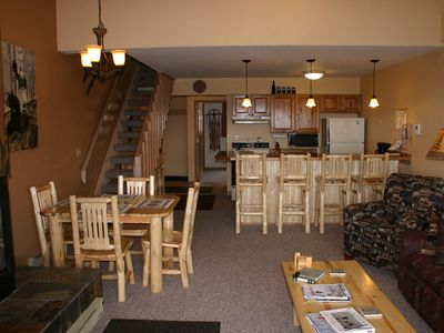 Photo for Beautiful 2 bed + loft - Ski in/Ski out Condo Whitefish Mountain Resort