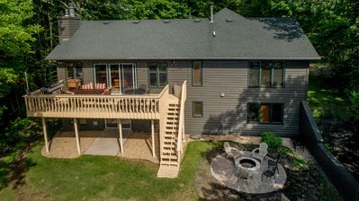 Photo for Spectacular Waterfront Gull Lake Cabin and Perfect Location Close to Everything