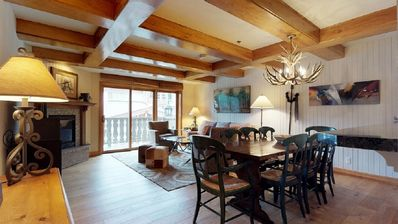 Photo for Bridge Street Lodge 3 bedroom ski in/ ski out Vail Village with AC