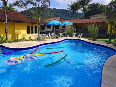 Photo for Beautiful house in Guapimirim with 7 suites with air conditioning