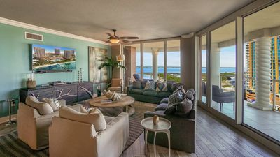 Photo for Portofino Tower 4 - Unit 1204 - Wonderful 3BR Elite Skyhome with Great Gulf View