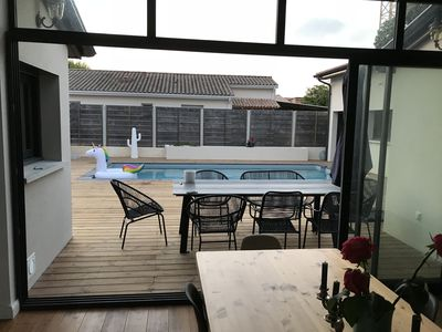 Photo for Large renovated shop with swimming pool