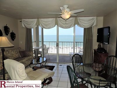 Photo for Apollo 502  Beachfront Condo w/on site restaurant/bar. Covered Parking