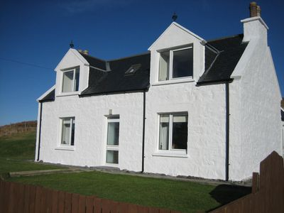 Photo for Cosy cottage near Portree & in mid-Skye.  Family-friendly and sleeps 5. Wi-Fi