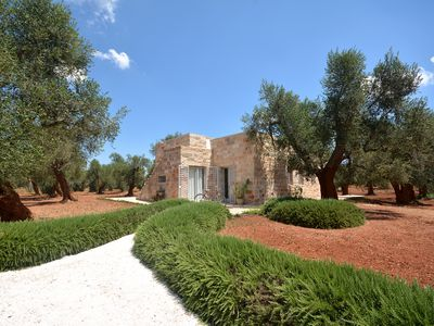 Photo for Villetta Fraula - Villa with pool immersed in an olive groove