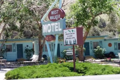 The Historic West Walker Motel has long been known as a stop off point on the scenic 395 in the Easter Foothills of the Sierra's. Surrounded by abundant outdoor activities including fishing, rafting, swimming and more.