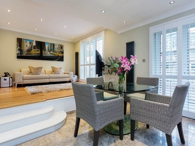 Photo for Gorgeous 1 bed riverside apartment in Battersea - (Veeve)