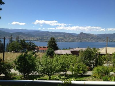 Gorgeous views of Okanagan Lake and Summerland.