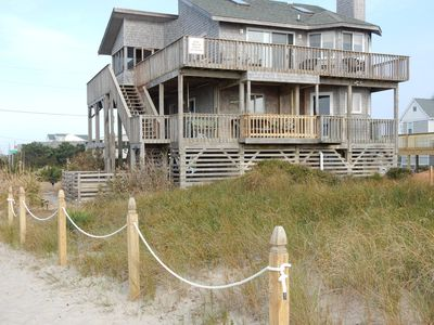 Photo for Ocean Front, Dog Friendly, Hatteras Island, 4 BR, 3 1/2 BA