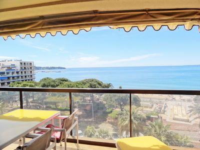 Photo for TERRACE FACING THE SEA, LARGE APARTMENT, BIG STANDING ,, GUARDIAN, WIFI, CLIM, PARKIN OPTION