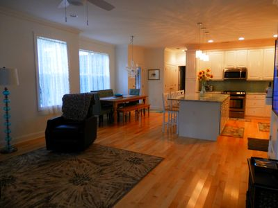 Photo for Walk To The Beach! New Beach House, WiFi, Cable Flat Screens In Every Room.