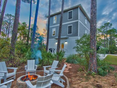 Photo for Brand NEW Home w/private pool & firepit! Steps to the beach & close to Seaside!