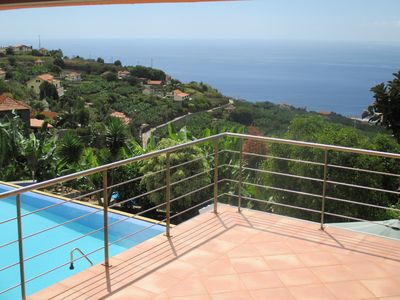 Photo for Apartment with sunny south west location and sea view, scenic, large terraces