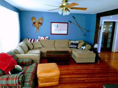 Photo for Beautiful vacation home 3 minutes to Windham Mtn.