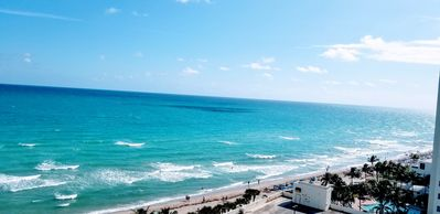 Photo for 1/1 Ocean front, Right on the beach, Hollywood Beach - Tides