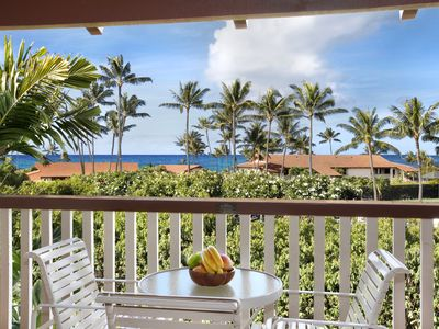 Photo for Nihi Kai 704 Ocean View - Great family Value in Poipu Beach with AC!