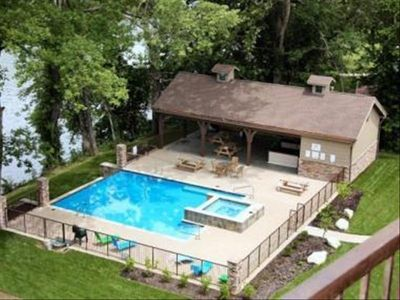 Photo for Relax & Entertain at Your Lakefront Resort Home W/ Pool & Spa!