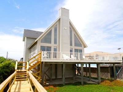 Photo for Westwind - Watch the Waves from the Oceanfront Deck