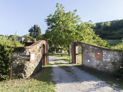 Photo for Le Macine, a wonderful ancient restored watermill with Pool