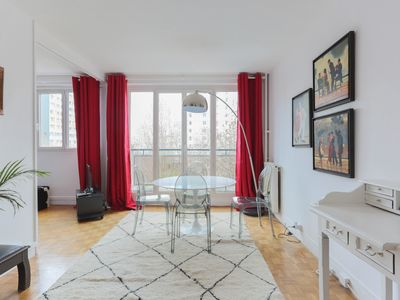 Photo for Modern 1br flat close to Station F, Gobelins and metro in Paris - Welkeys