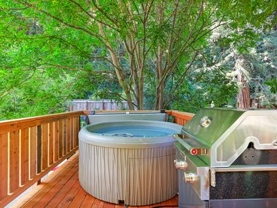 Photo for Updated 1930's Grand River House, modern amenities, private hot tub, near river!