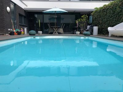Photo for 3 separate rooms for rent in Villa with swimming pool in Maastricht
